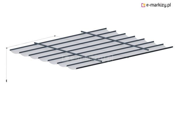 Zwijane zadaszenie tarasowe costa, zwijany dach pergolowy na wymiar