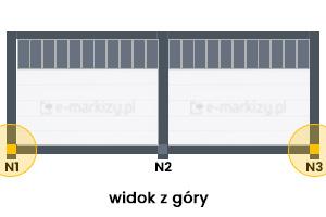 N1, N3 (2-moduly)