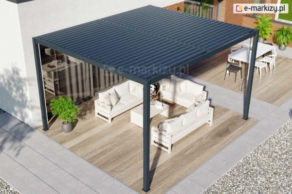Pergola aluminiowa z lamelami, pergola aluminiowa global