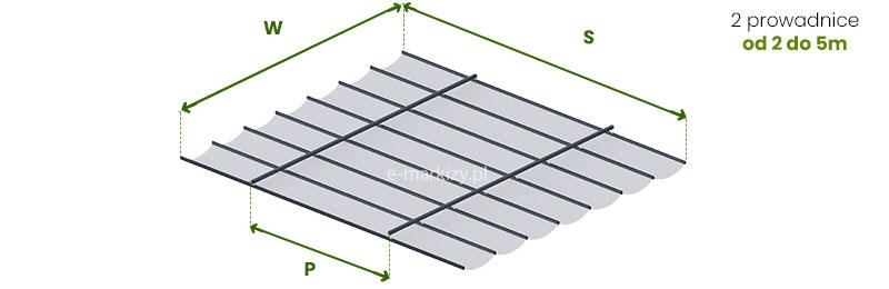Dach Costa podwieszany, jak mierzyć zadaszenie tarasowe do konstrukcji własnej