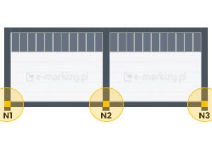 N1, N2, N3 (2-moduly)