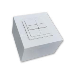 Przełącznik do markiz somfy, przełącznik podtynkowy 1800505 Smoove Duo + ramka 9019971